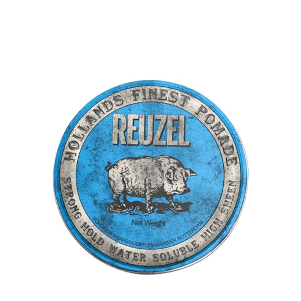 Reuzel Blue Pomade Strong Hold Water Soluble High Sheen