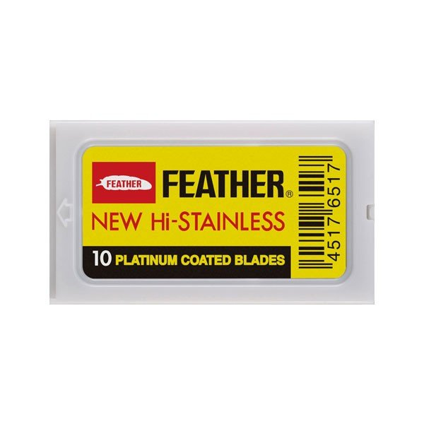 Feather Platinum Coated Blades