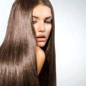 γυναικα μακρια ισια καστανα μαλλια περιποιηση μαλλιων