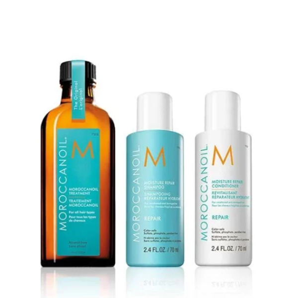Moroccanoil Back To Basics Repair Set