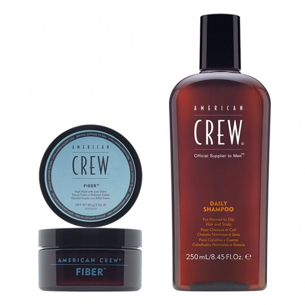 American Crew SET Daily Shampoo - Fiber