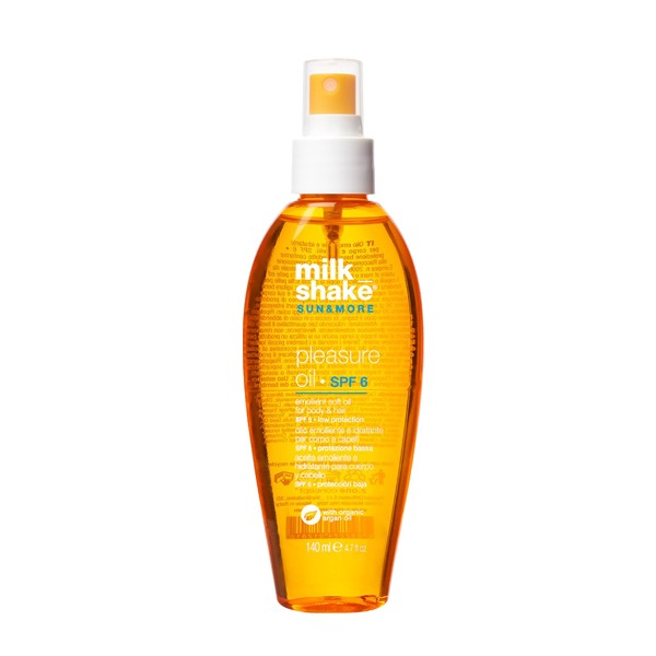 milk_shake emollient soft oil for body & hair SPF 6 • low protection 140ml