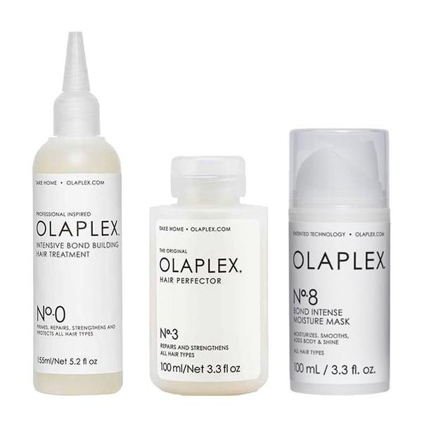 Olaplex Hair Treatment Set (Olaplex No.0 155ml, Olaplex No.3 100ml, Olaplex No.8 100ml) kaizen-shop.gr