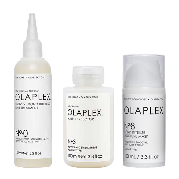 Olaplex Hair Treatment Set (Olaplex No.0 155ml, Olaplex No.3 100ml, Olaplex No.8 100ml) kaizen-shop.gr