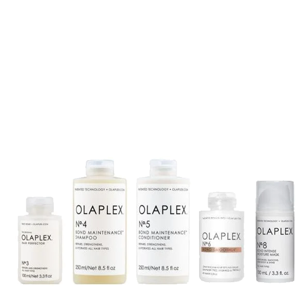 Olaplex Smoothing Kit(No3 100ml, No4 250ml, No5 250ml, No6 100ml, No8 100ml)