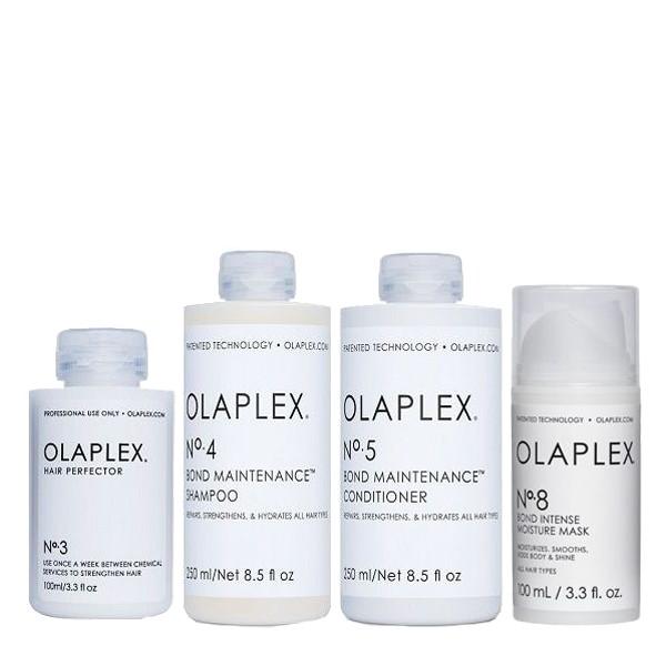 Olaplex Take Home Kit (No3 100ml, No4 250ml, No5 250ml, Νο8 100ml)